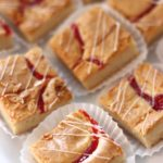 raspberry blondies from french bakery cafe pierrot in northern new jersey