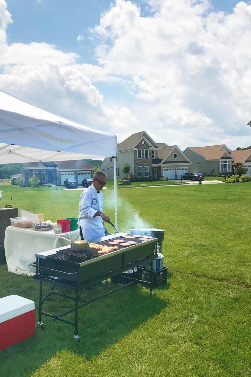 plan a summer bbq with pierrot catering in sussex county nj