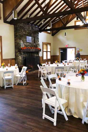 schooley's mountain lodge bridal shower wedding venue catering by pierrot catering
