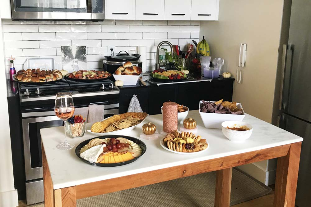 NYC housewarming party by french bakery in NJ