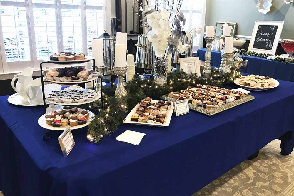 holiday cocktail party by pierrot catering in northern new jersey