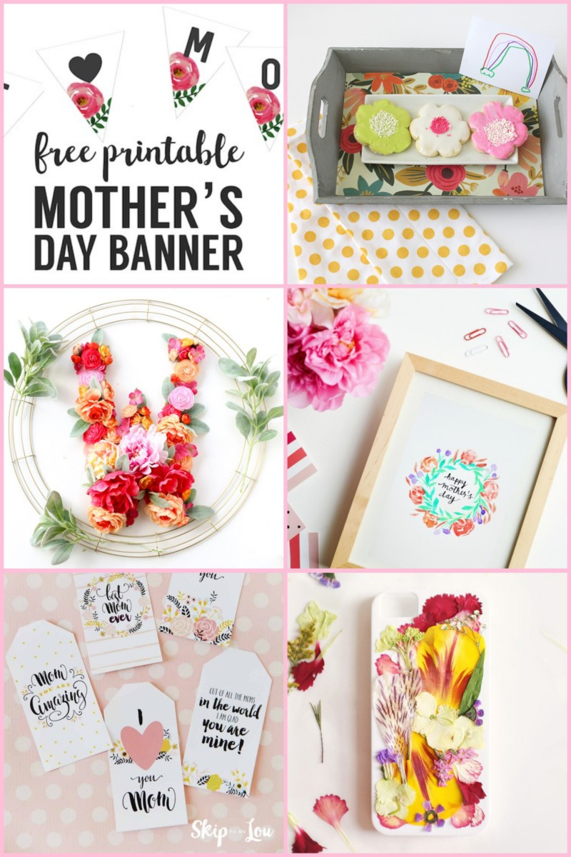 DIY mother's day suggestions from Cafe Pierrot in Sparta NJ