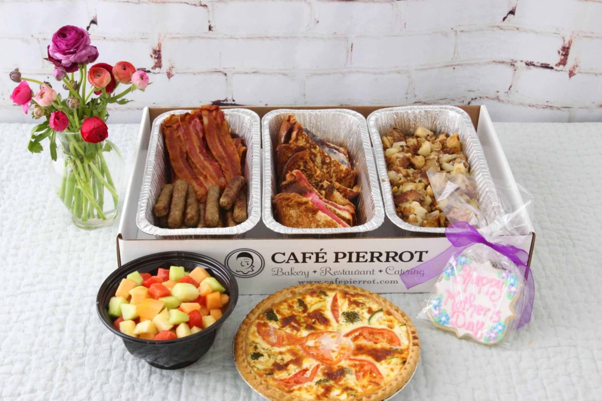mother's day catering to go by Pierrot Catering in North Jersey